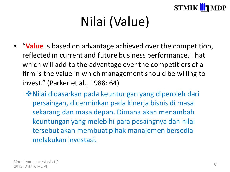 Jenis-Jenis Manfaat 3.Intangible benefit adalah manfaat yang berfokus pada peningkatan efektivitas perusahaan.