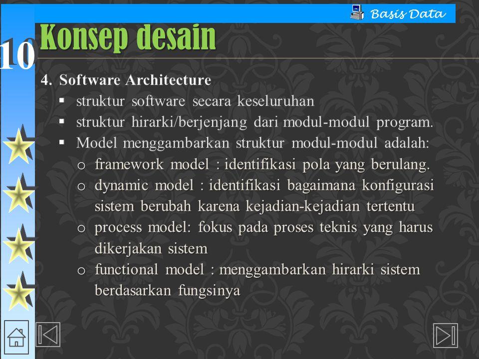 10 Basis Data Konsep desain