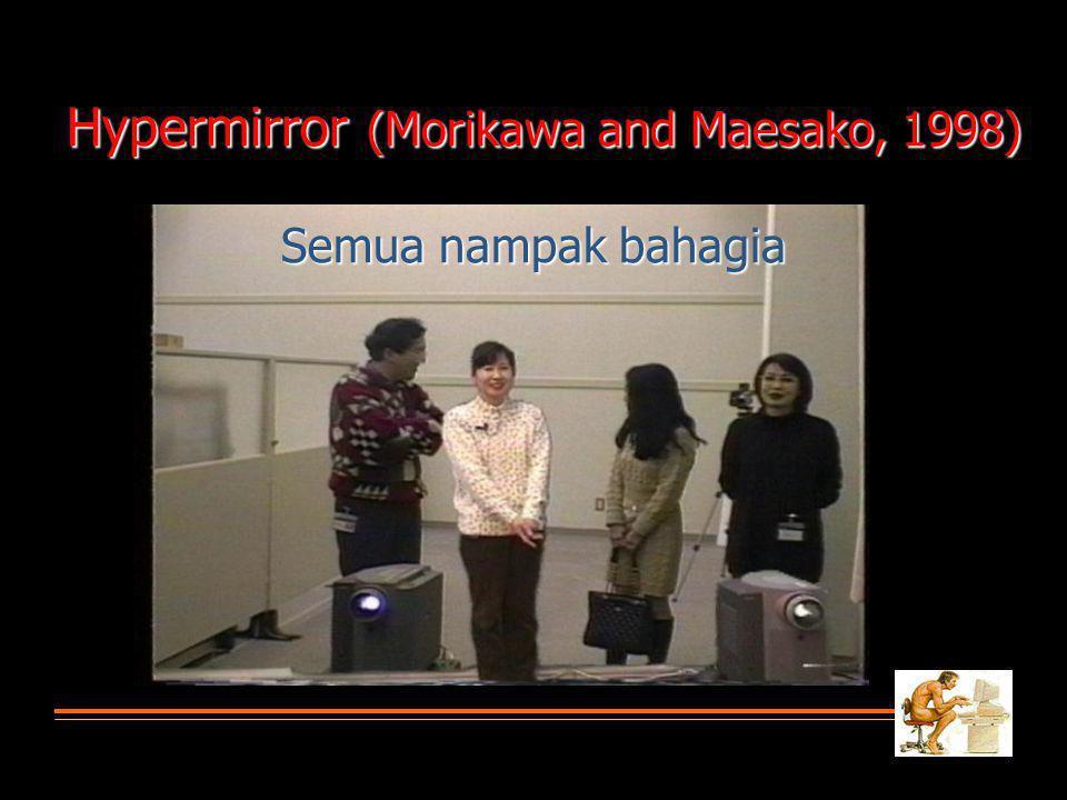 Semua nampak bahagia Hypermirror (Morikawa and Maesako, 1998)
