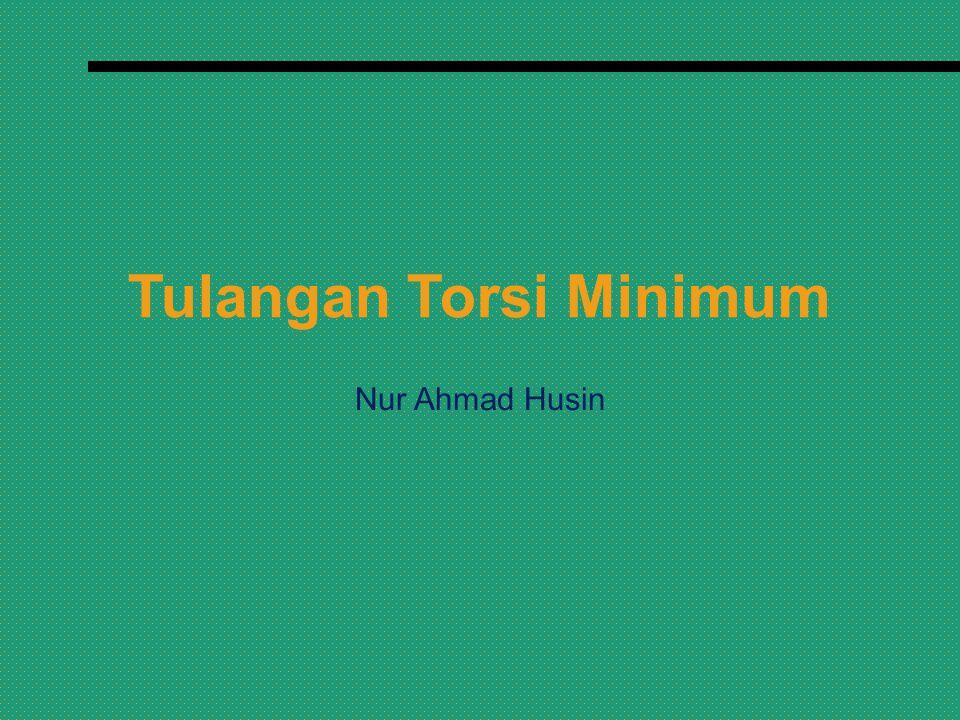 Tulangan Torsi Minimum Nur Ahmad Husin