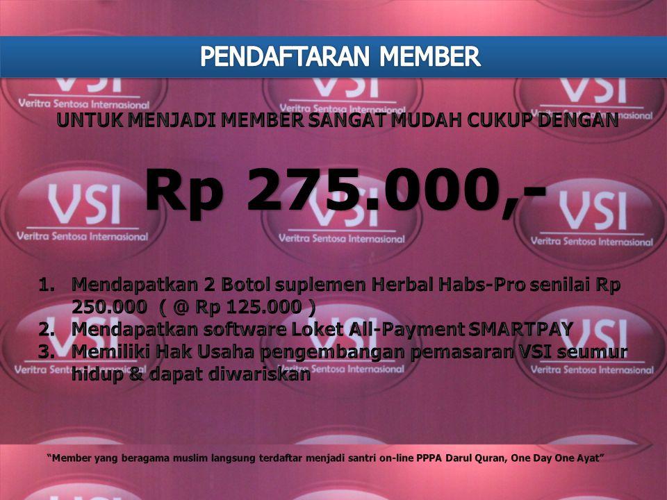 didirikan pada bulan Juni 2013 di Bandung. VSI adalah sebuah perusahaan yang bergerak di bidang perdagangan umum, Jasa Pemasaran produk komoditas poko
