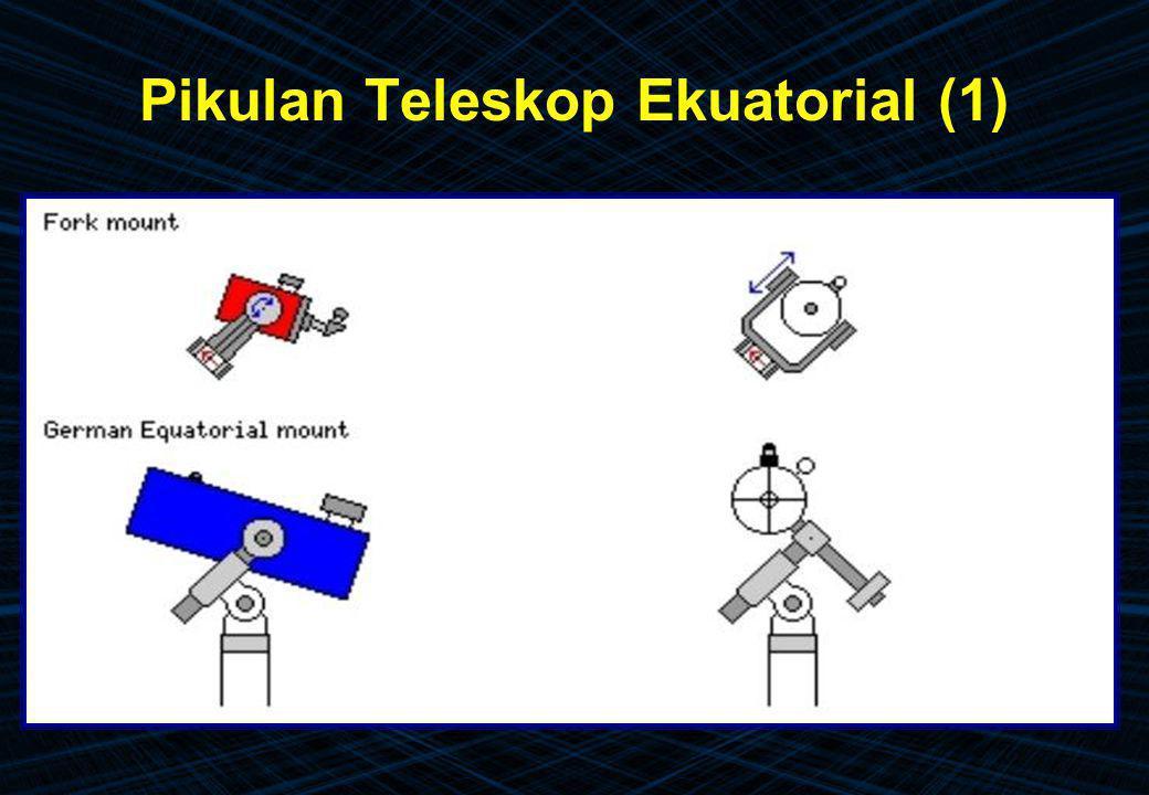 Pikulan Teleskop Ekuatorial (1)