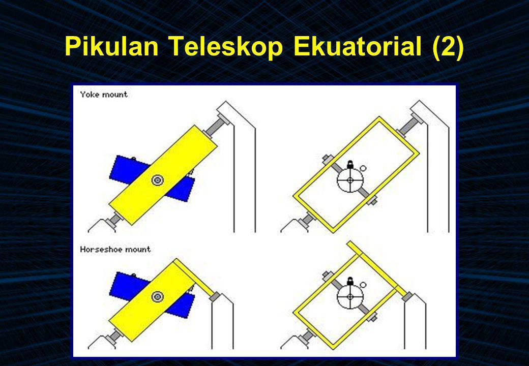 Pikulan Teleskop Ekuatorial (2)