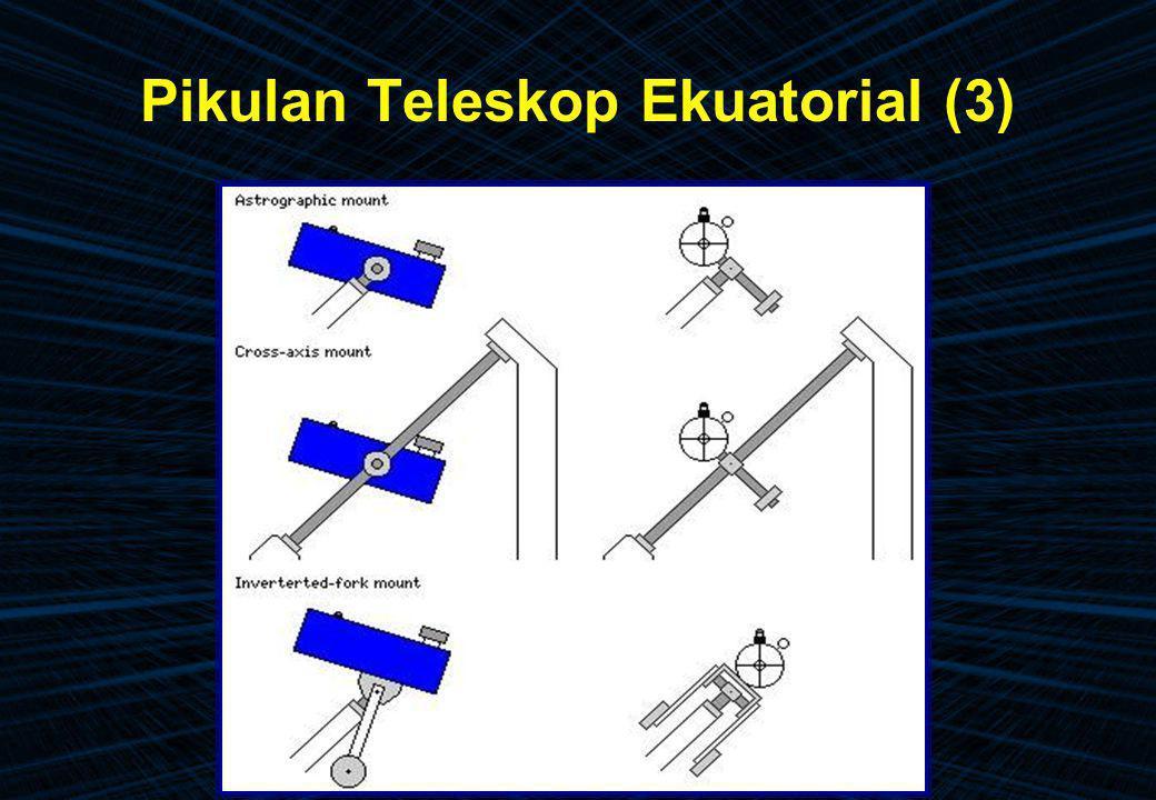 Pikulan Teleskop Ekuatorial (3)