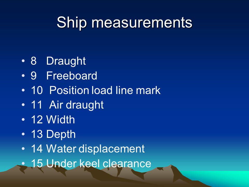 Displacement Berat keseluruhan kapal atau berat benaman kapal dalam tonnase