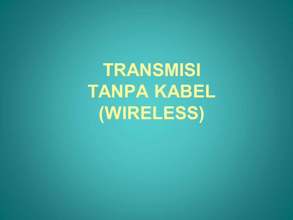 FREKUENSI SPEKTRUM DAN PANJANG GELOMBANG DESIGNATIONABBREVIATIONFREQUENCIES FREE-SPACE WAVELENGTHS Very Low FrequencyVLF9 KHz – 30 KHz33 Km – 10 Km Low FrequencyLF30 KHz – 300 KHz10 Km – 1 Km Medium FrequencyMF300 KHz – 3 MHz1 Km – 100 m High FrequencyHF3 MHz – 30 MHz100 m – 10 m Very High FrequencyVHF30 MHz – 300 MHz10 m – 1 m Ultra High FrequencyUHF300 MHz – 3 GHz1m – 100 mm Super High FrequencySHF3 GHz – 30 GHz100 mm – 10 mm Extremely High FrequencyEHF30 GHz – 300 GHz10 mm – 1 mm