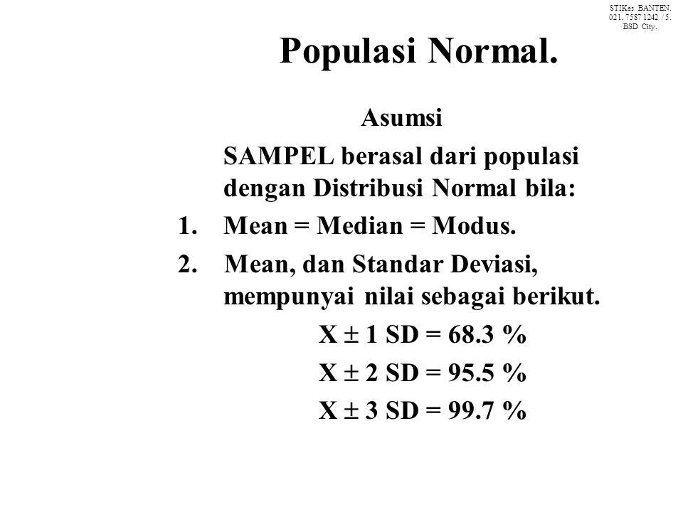 Populasi Normal.