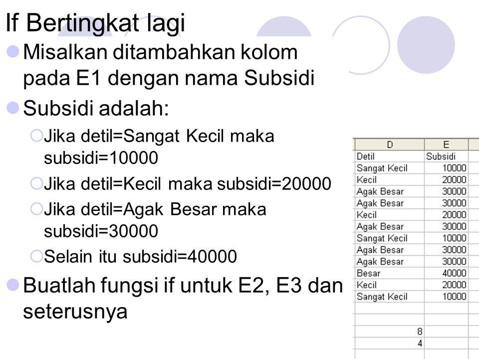 Edri YunizalManajemen Informatika STAIN BSK9 Latihan