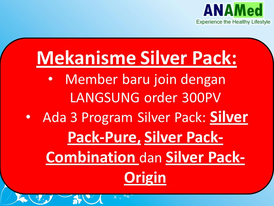 Silver Pack-Origin: Member Baru bergabung dg order 3 cases Noni Origin (300PV)