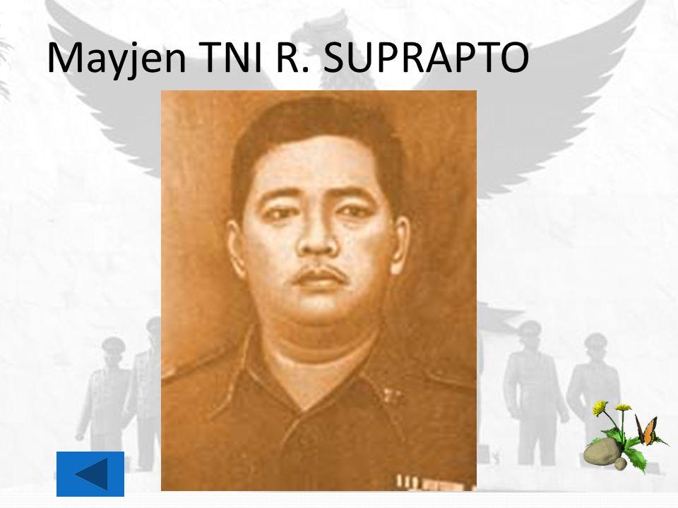 Mayjen TNI R. SUPRAPTO
