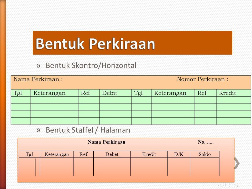 HAL : 26 » Bentuk Skontro/Horizontal » Bentuk Staffel / Halaman