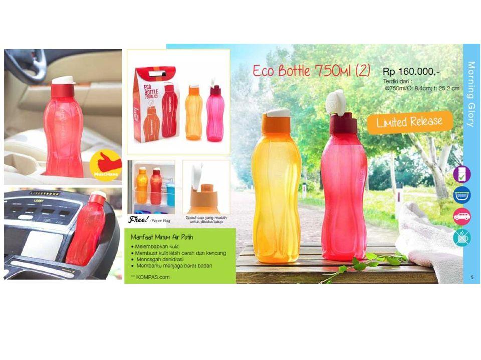 Product Info – Eco Bottle 750ml Kapasitas 750ml.