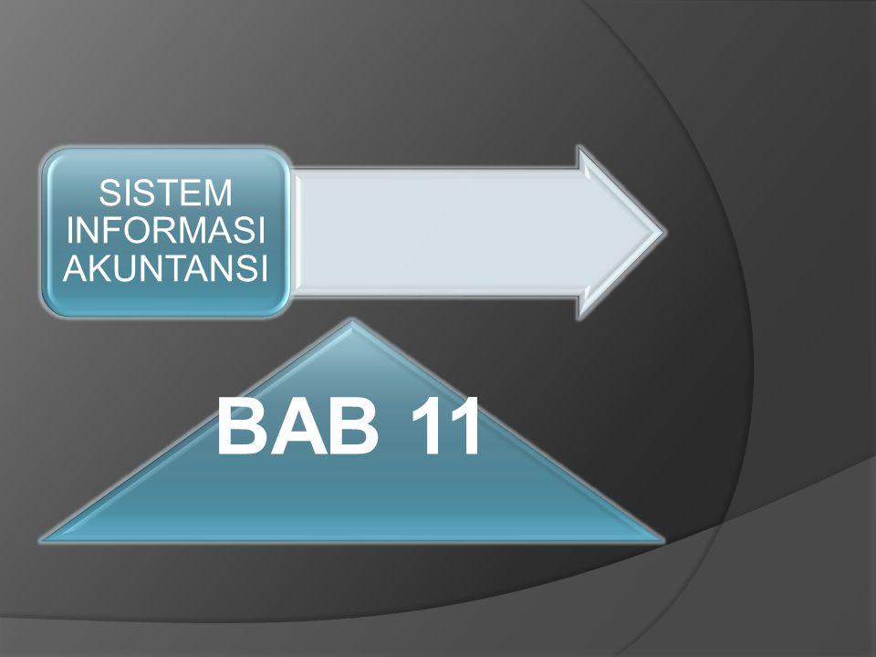 BAB 11 SISTEM INFORMASI AKUNTANSI