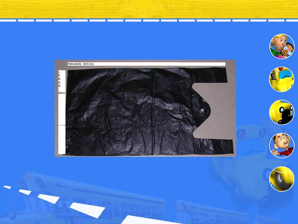 Proses Pembuatan Kantong Plastik Pembuatan kantong plastik menggunakan metode ekstruksi. Pellet (bijih besi) dimasukkan lewat corong, kemudian didoron