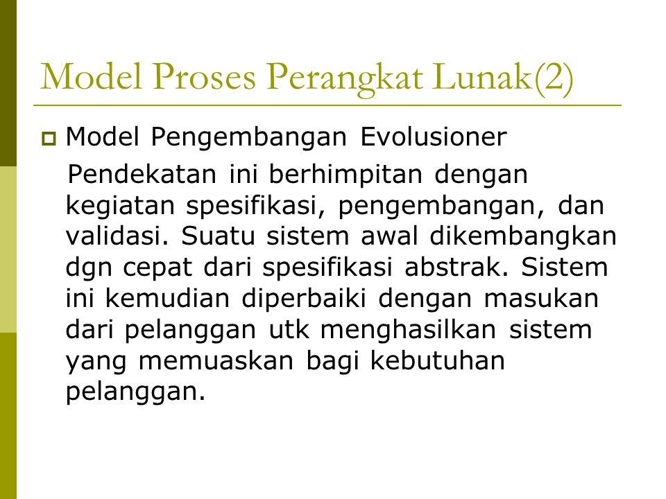 Pengembangan Reuse-oriented(4) 2.