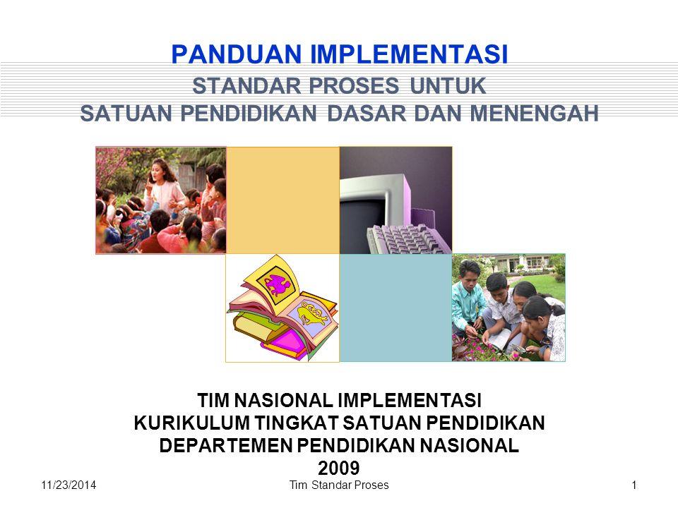 Tim Standar Proses3211/23/2014 Prinsip-prinsip Penyusunan RPP 1.