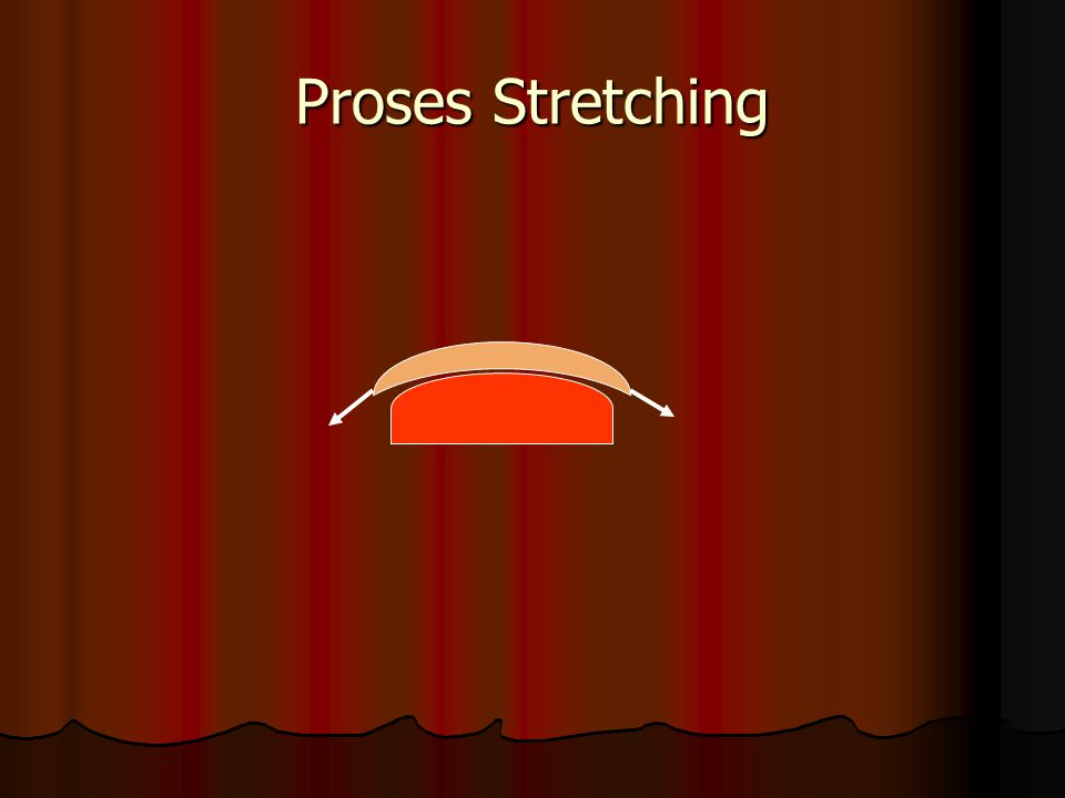 Proses Stretching