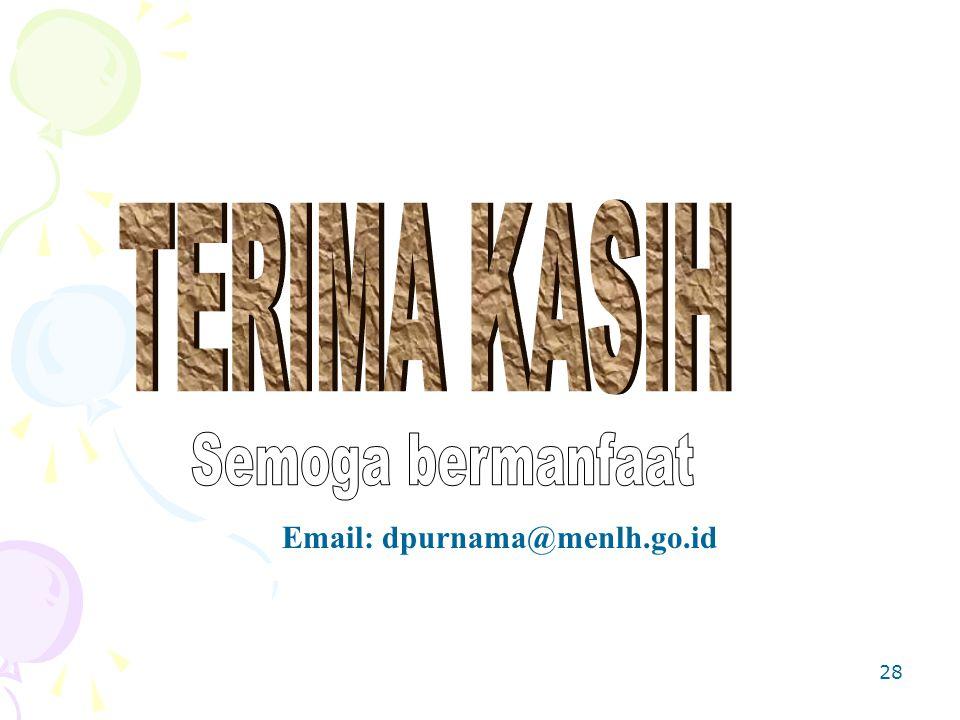 28 Email: dpurnama@menlh.go.id