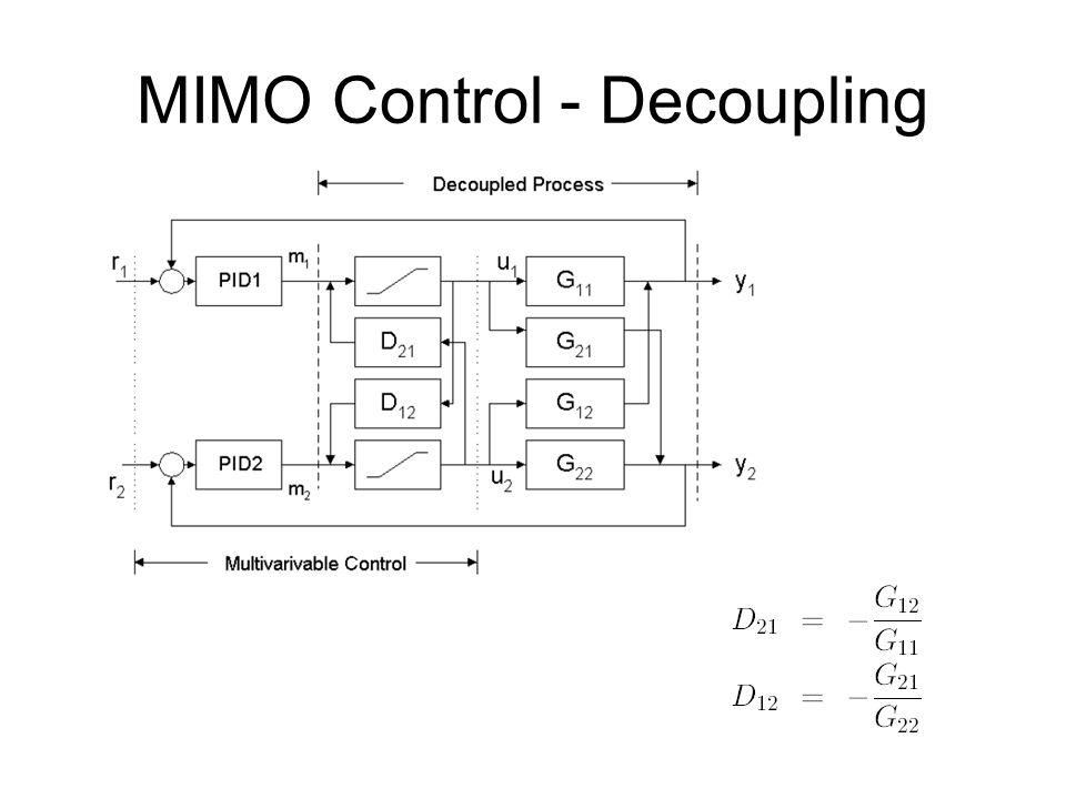 MIMO Control - Decoupling