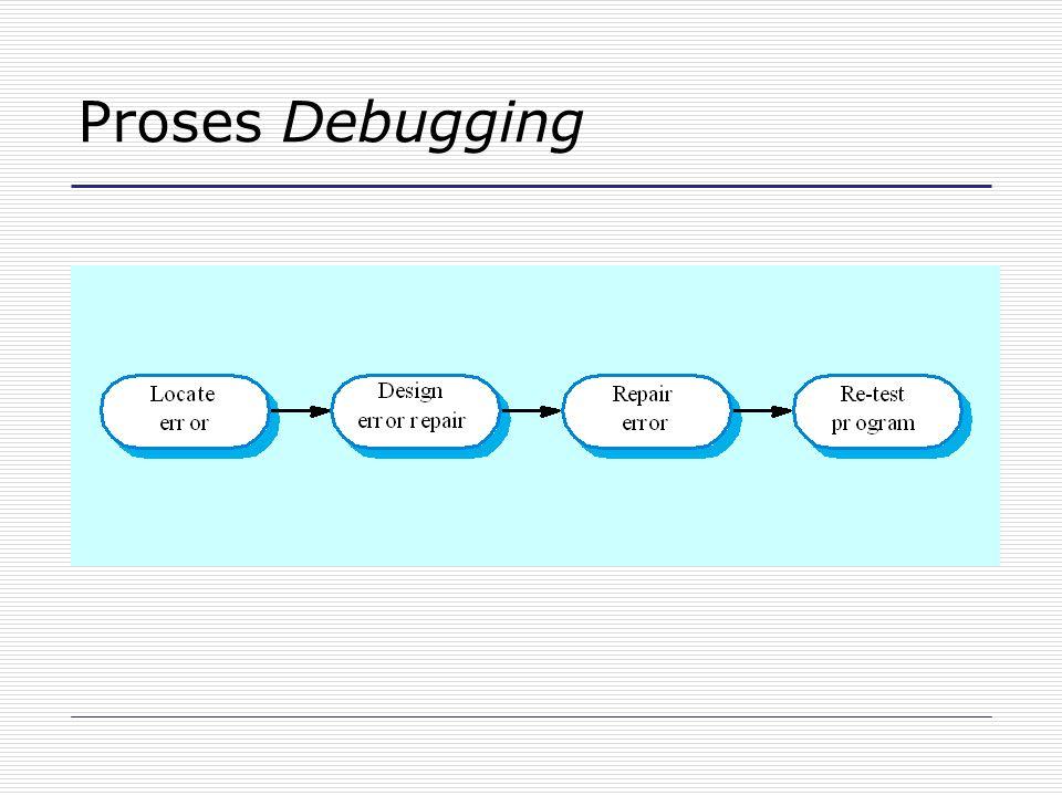 Proses Debugging