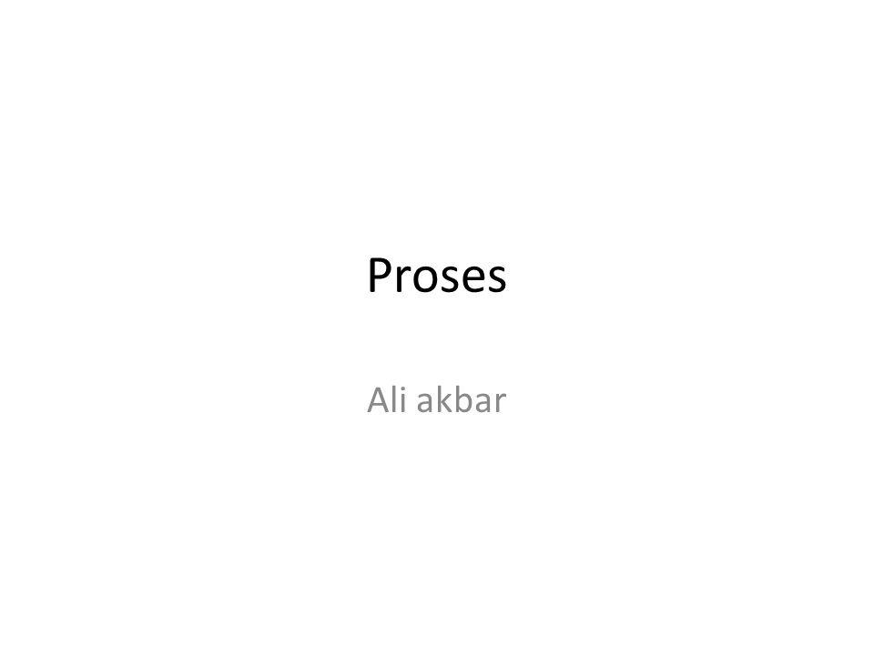 Proses Ali akbar