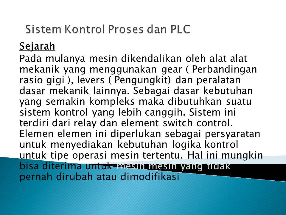 Setelah langkah 3, PLC akan menghalangi lagi scanning program- nya dari langkah 1, demikian seterusnya.