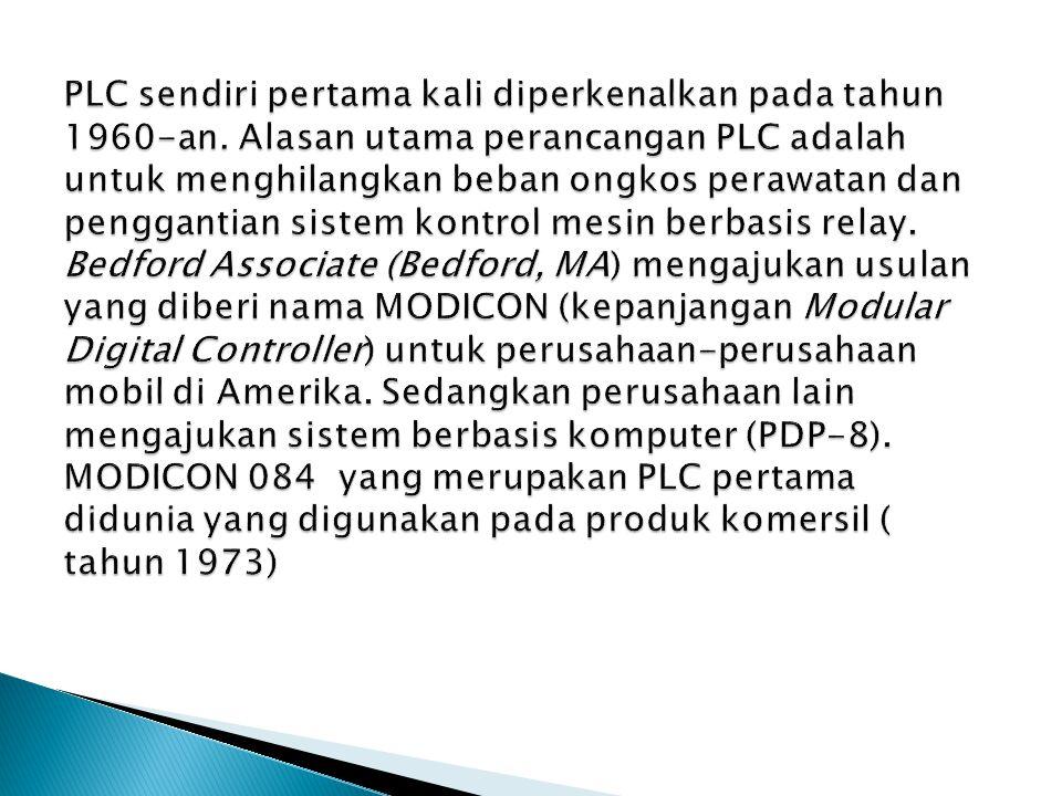 Komponen PLC  4.