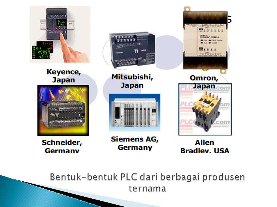 PLC dengan Mikrokontroller Mikrokontroller pada dasarnya dirancang untuk melakukan tugas-tugas kontrol.