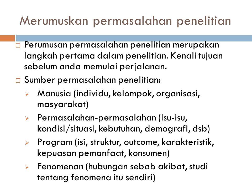 Elemen Proposal Penelitian  Pendahuluan (mengungkapkan bidang/area penelitian, latar belakang, teori, isu utama yang diangkat, dsb.)  Pentingnya penelitian dilakukan (mengapa anda melakukan penelitian tersebut.