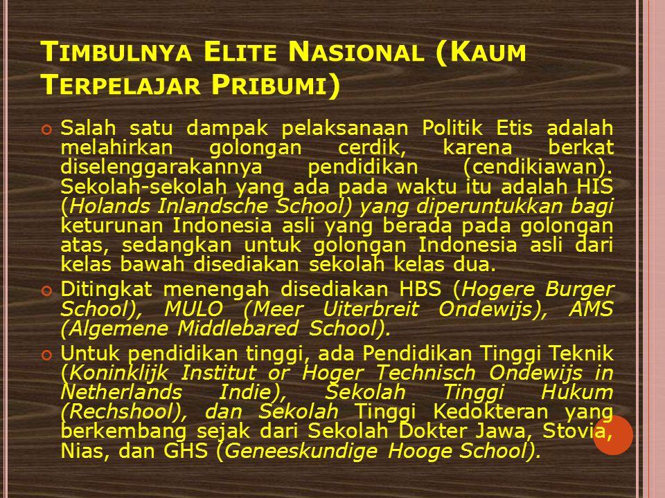 MODERAT Sejak tahun 1930 organisasi-organisasi pergerakan Indonesia mengubah taktik perjuangannya, mereka menggunakan taktik kooperatif (bersedia bekerja sama) dengan pemerintah Hindia Belanda.