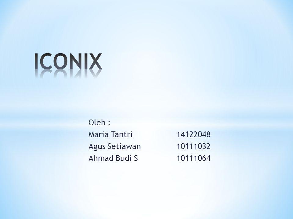 ICONIX merupaakan salah satu model dari rekayasa perangkat lunak yang dapat digunakan untuk pengembangan sebuah software.