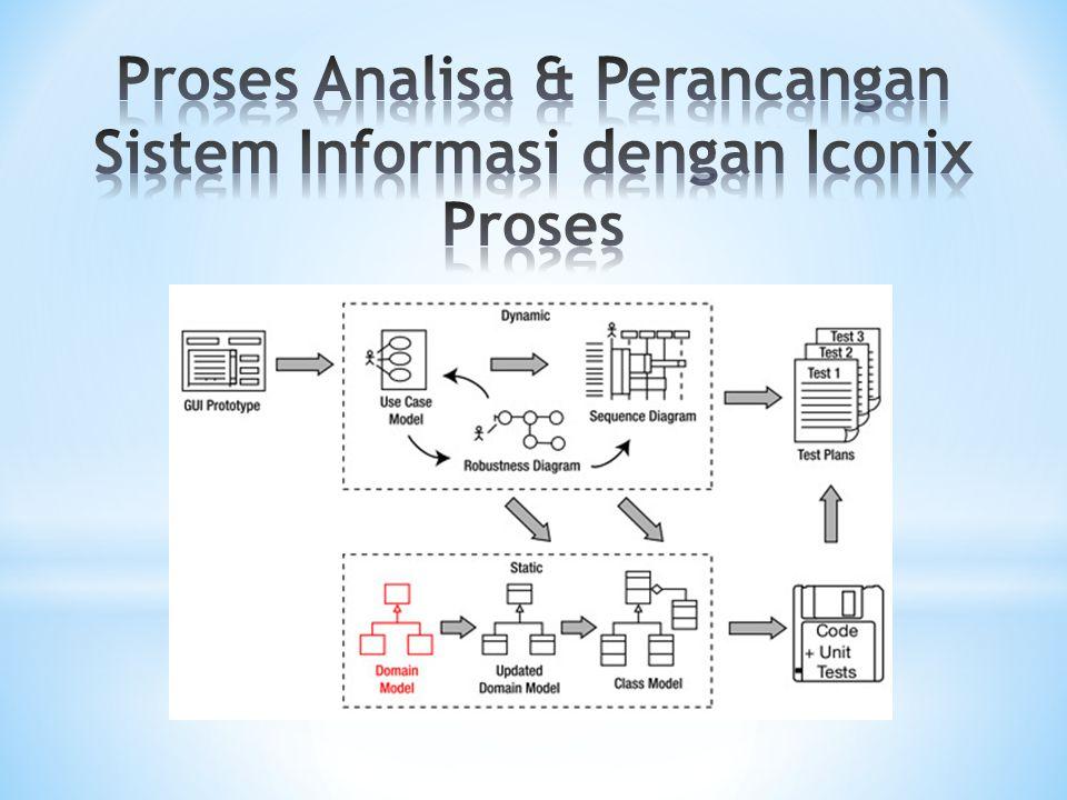 * Keunggulan utama ICONIX (dan membedakannya dengan metodologi lain) adalah pemanfaatan robustness diagram untuk melakukan analisa kehandalan.