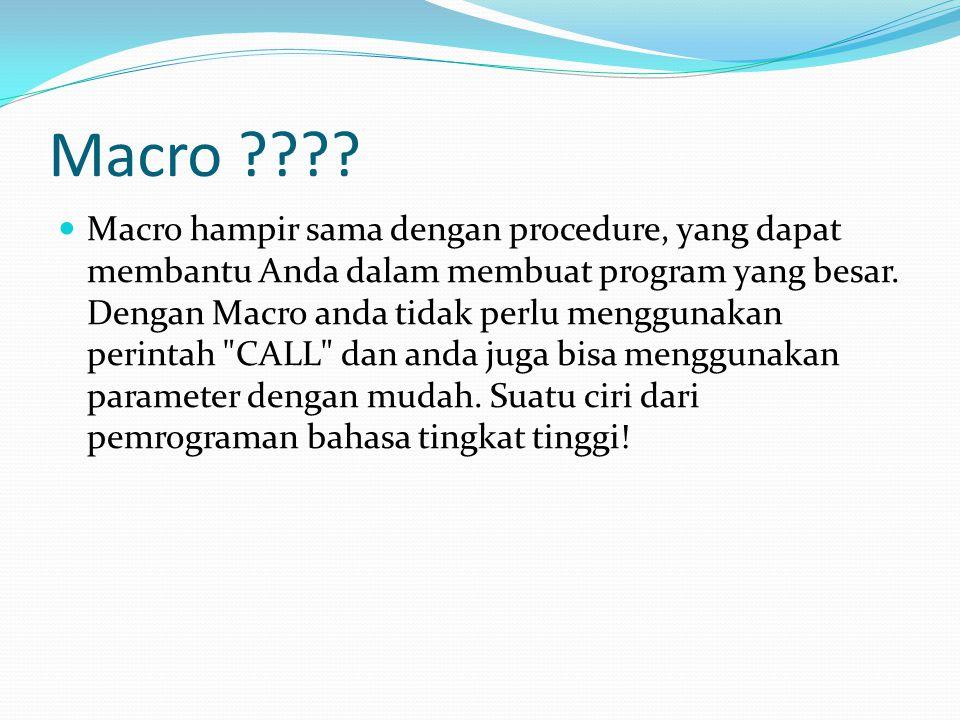 Macro ???.