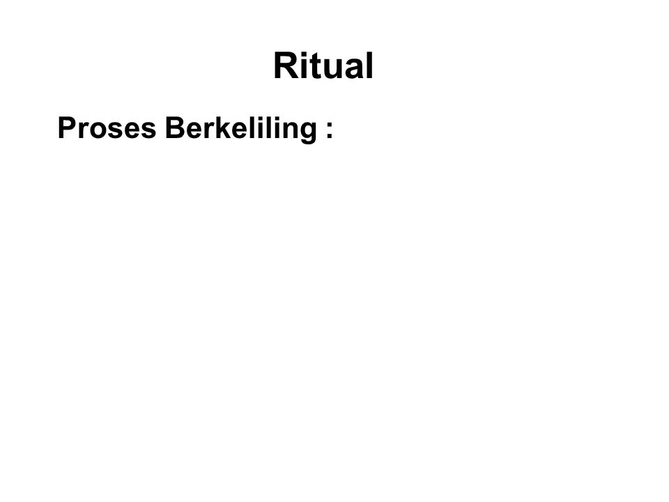 Ritual Proses Berkeliling : Walking around an object of veneration such as a stupa, Bodhi tree or Buddha statue.