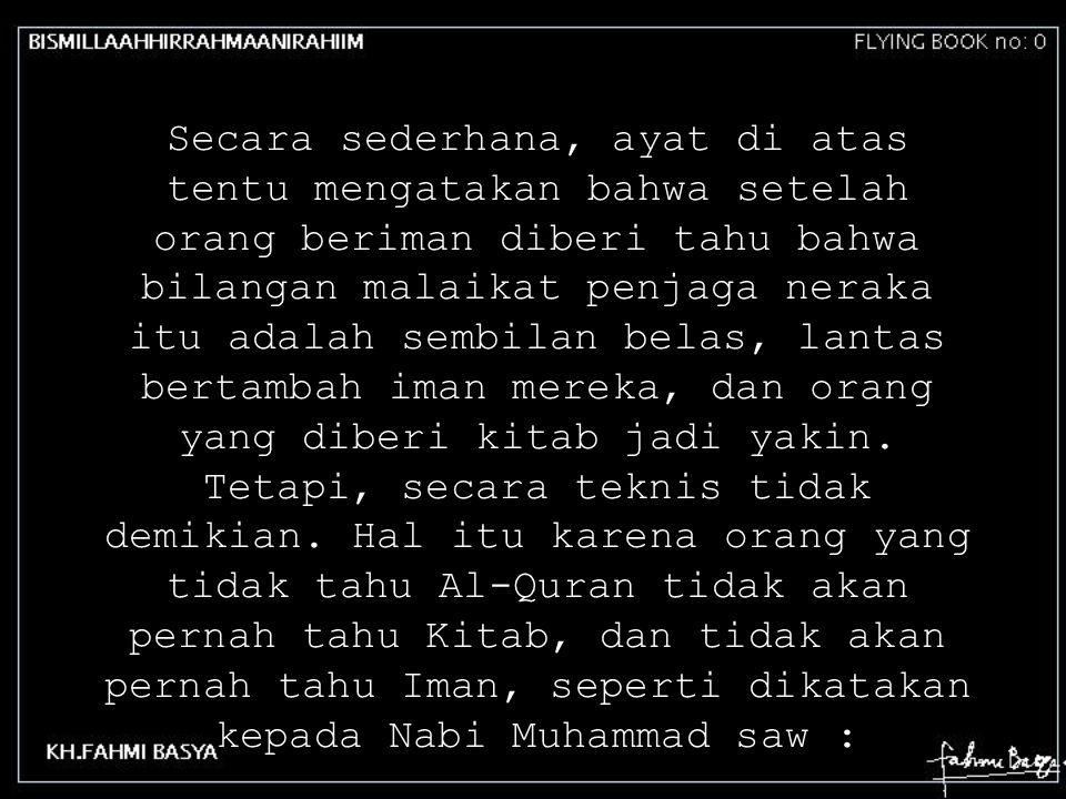 18 Surat YA SIN, surat ke 36 pada Al-Quran dibuka dua huruf YA SIN.