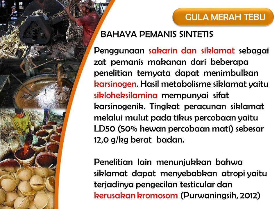GULA MERAH TEBU  Gula merah sudah digunakan di Jawa sejak tahun 400.