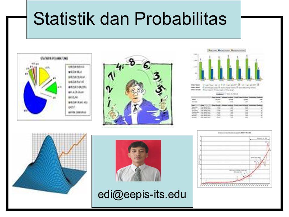 Statistik dan Probabilitas edi@eepis-its.edu