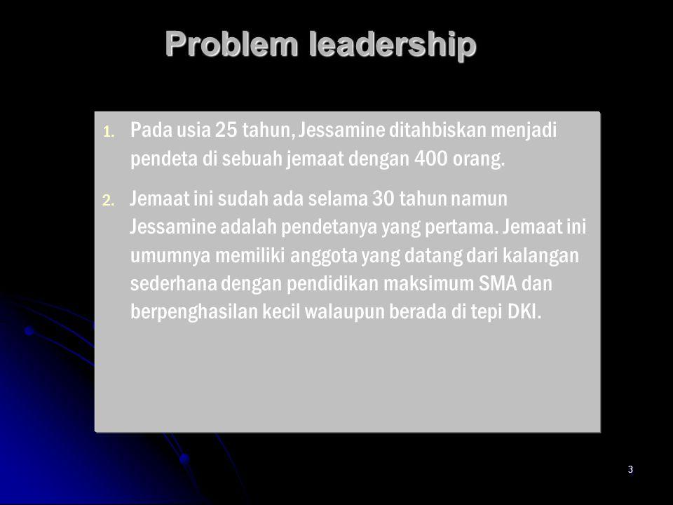 3 Problem leadership 1. 1.
