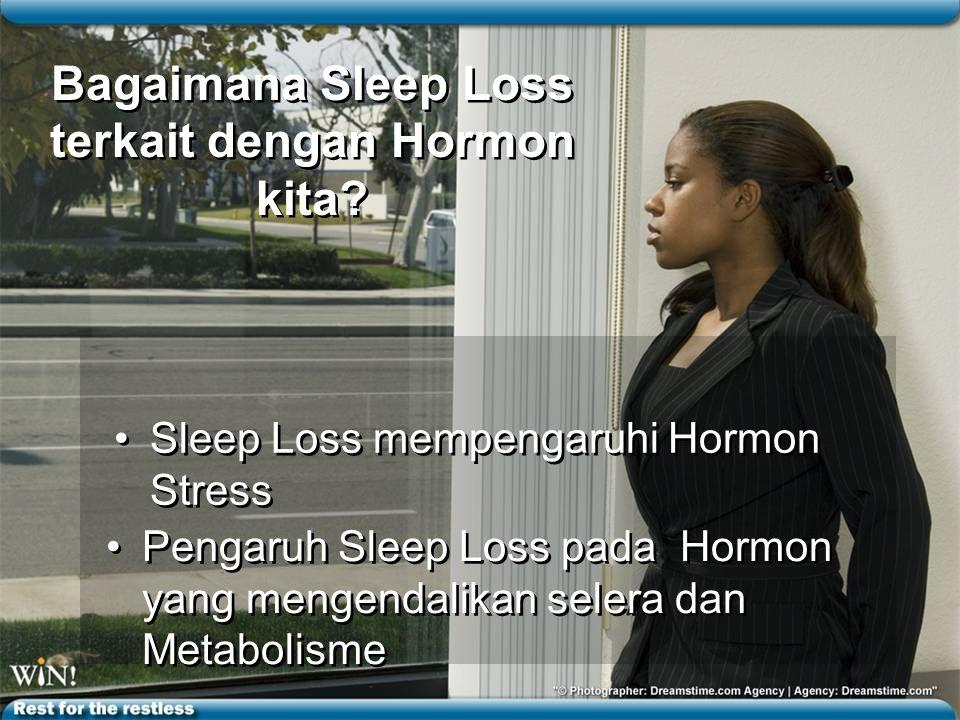 Bagaimana Sleep Loss terkait dengan Hormon kita.