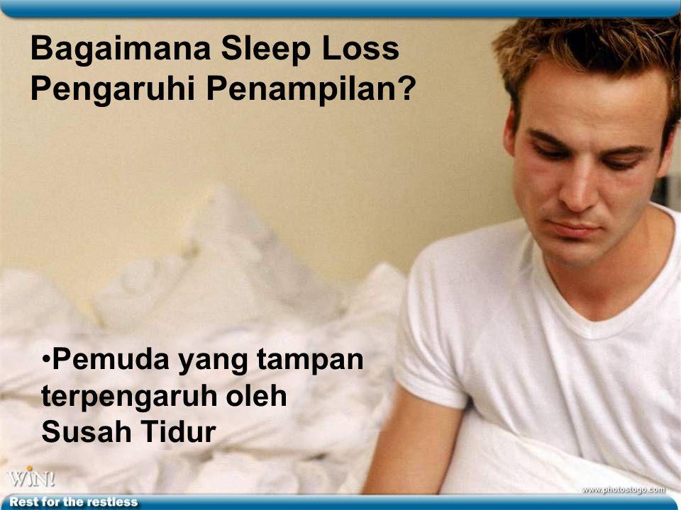 Bagaimana Sleep Loss Pengaruhi Penampilan? Pemuda yang tampan terpengaruh oleh Susah Tidur