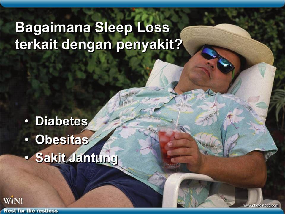 Bagaimana Sleep Loss terkait dengan penyakit.