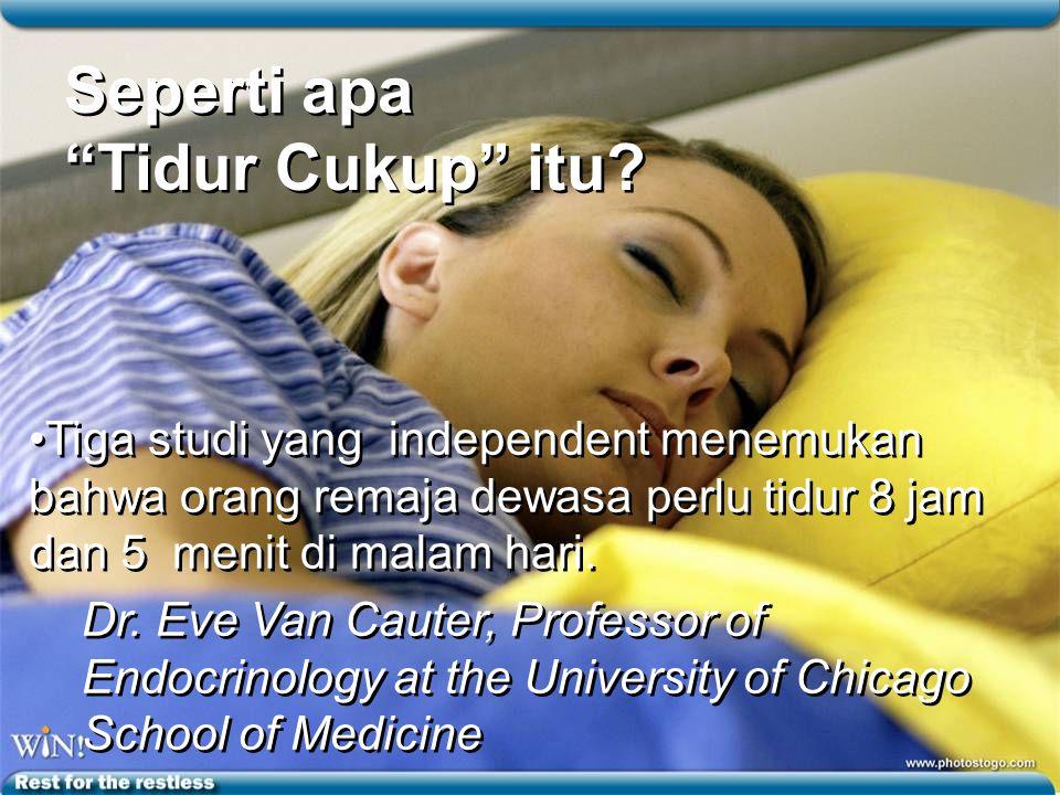 ISTIRAHAT BAGI YANG LELAH Kelelahan mempengaruhi lebih dari tubuh fisik kita.