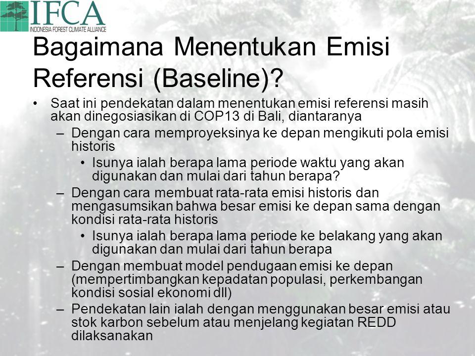 Bagaimana Menentukan Emisi Referensi (Baseline).