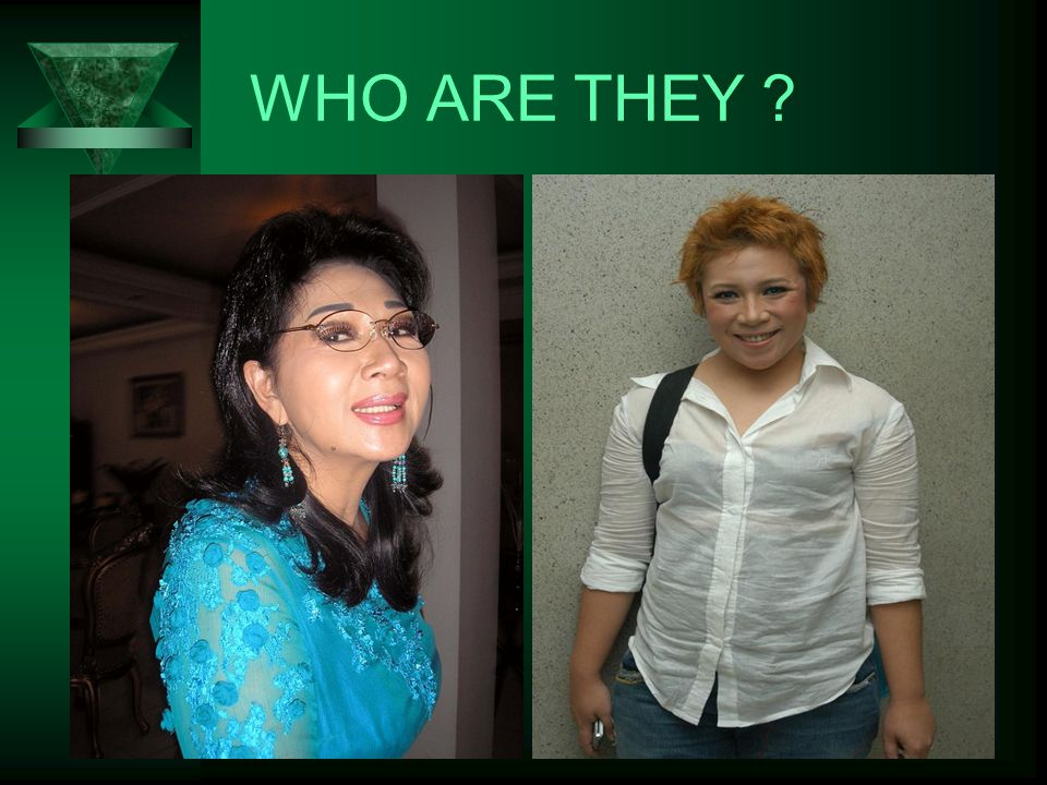 WHO ARE THEY ?