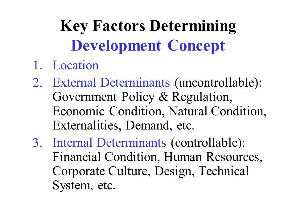 Basic Elements of DC Location Analysis Interpretation of market condition Innovative Ideas Product-mixed Staging of Development Process Preliminary Feasibility Study Development Scenario