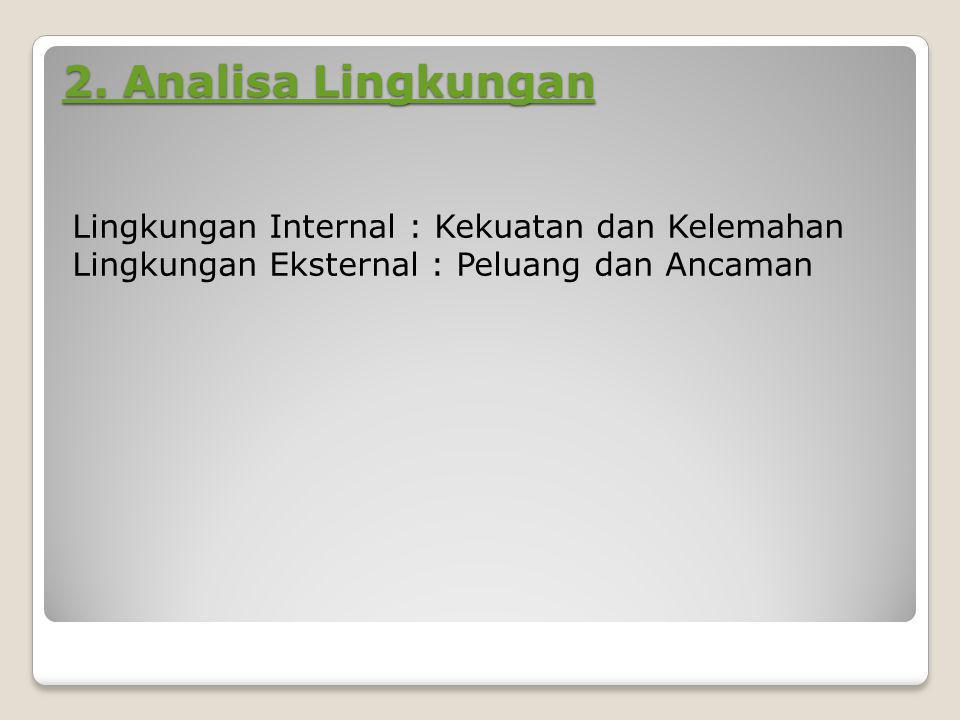 2.Analisa Lingkungan 2.