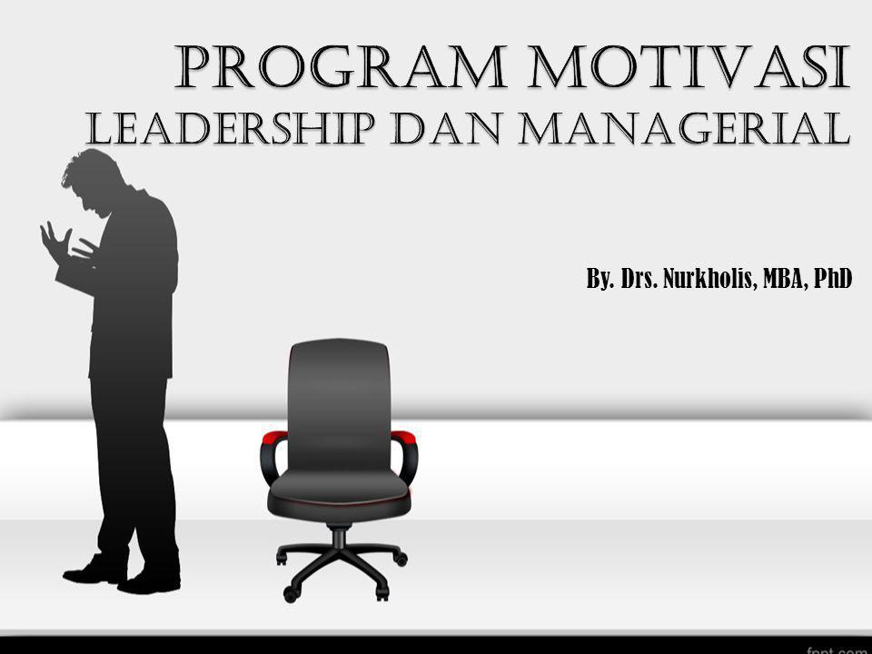 By. Drs. Nurkholis, MBA, PhD