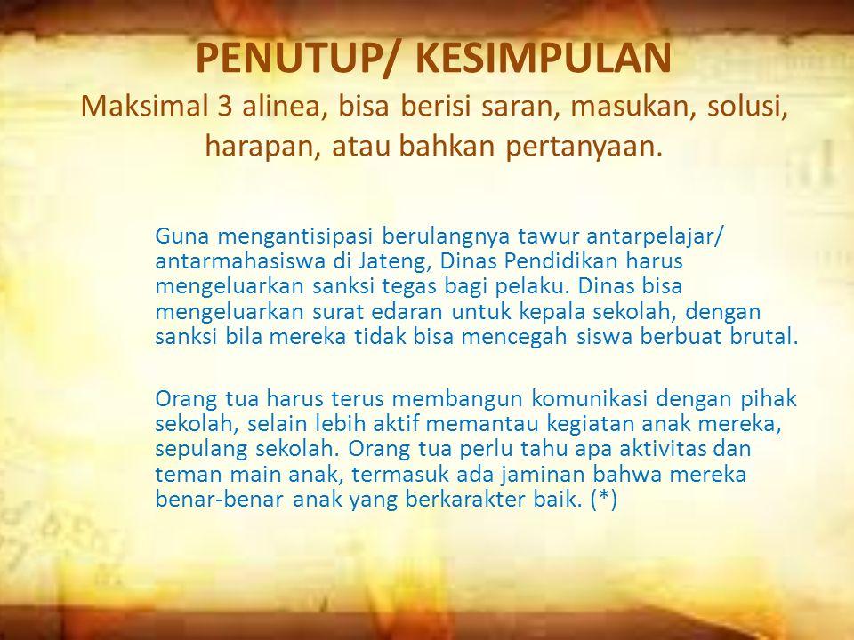 Cocong Arief Priyono, UNIVERSITAS MUHAMMADIYAH SEMARANG ( UNIMUS ) Kamis, 21 Februari 2013