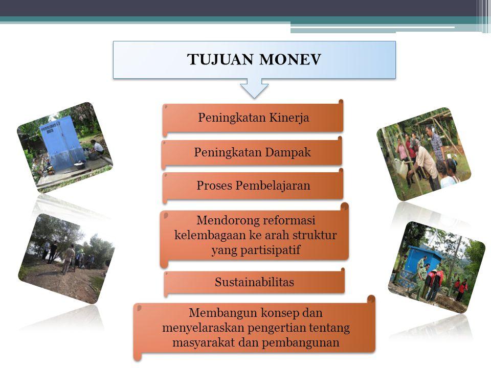 Kalau program sudah diserahkan ke Pemerintah Kabupaten, maka yang harus diperhatikan: 1.
