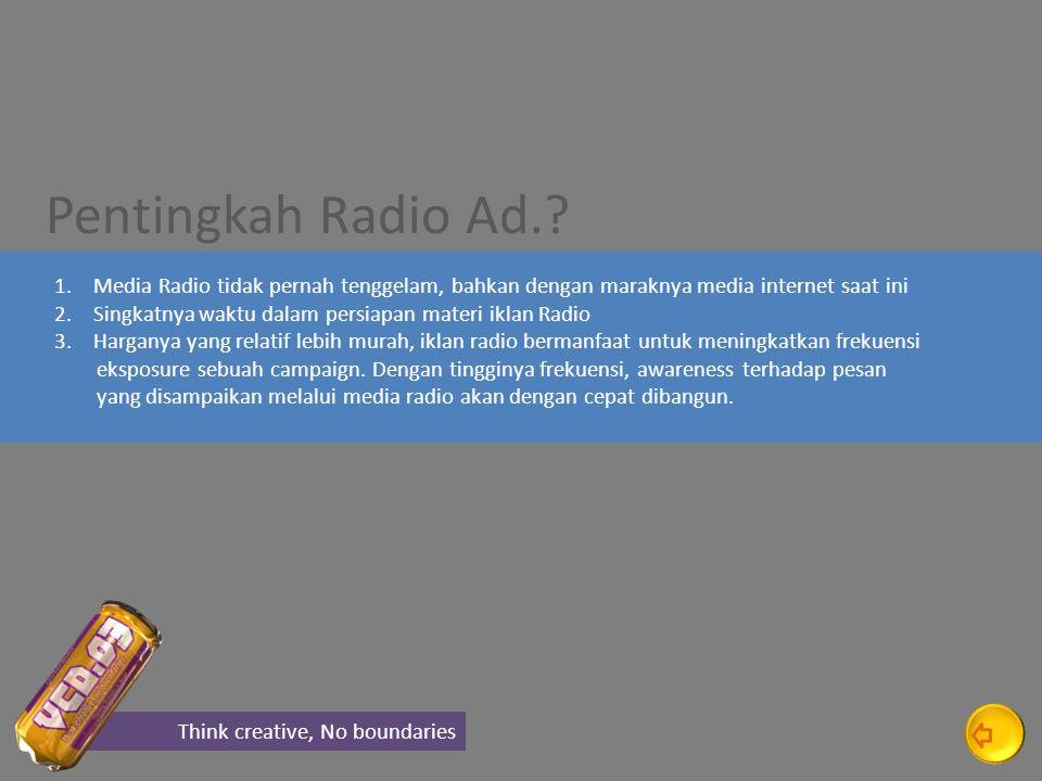 Pentingkah Radio Ad..